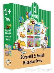 1+ Yaş Sürprizli ve Renkli Kitaplar Serisi (4 Kitap Set)