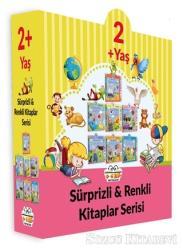 2+ Yaş Sürprizli ve Renkli Kitaplar Serisi (7 Kitap Set)