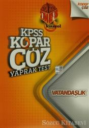 2014 KPSS Kopar Çöz Yaprak Test - Vatandaşlık
