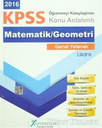 2016 KPSS Genel Yetenek Lisans Matematik / Geometri Konu Anlatımlı