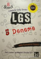 2018 8. Sınıf LGS 5 Deneme