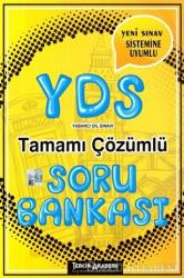 2018 YDS Tamamı Çözümlü Soru Bankası