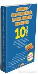 2020 Jandarma Genel Komutanlığı ile Sahil Güvenlik Komutanlığı Tamamı Çözümlü 10 Deneme