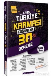 2020 KPSS Coğrafya 30 Deneme Türkiye Karması Tamamı Çözümlü