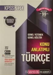 2020 KPSS Genel Yetenek Genel Kültür Video Destekli Konu Anlatımlı - Türkçe