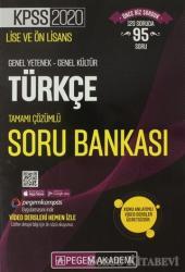 2020 KPSS Lise ve Ön Lisans Genel Yetenek-Genel Kültür Türkçe Tamamı Çözümlü Soru Bankası