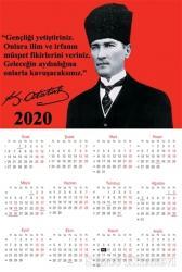 2020 Takvim Poster