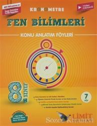 2021 8. Sınıf Kronometre Fen Bilimleri Konu Anlatım Föyleri (7 Föy)