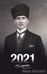 2021 Atatürk Ajandası (Kalpaklı)