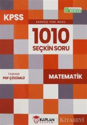 2021 KPSS Matematik 1010 Seçkin Soru Bankası Tamamı PDF Çözümlü