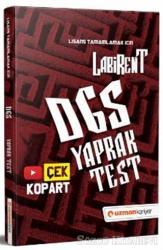 2021 Labirent DGS Çek Kopar Yaprak Test
