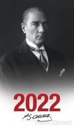 2022 Atatürk Ajandası Başöğretmen - Çerçeveli