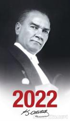 2022 Atatürk Ajandası Gazi Paşa - Çerçeveli