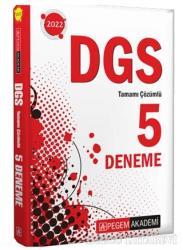 2022 DGS Tamamı Çözümlü 5 Deneme