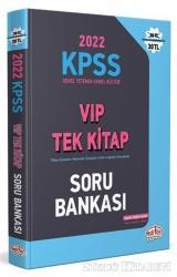 2022 KPSS Genel Yetenek - Genel Kültür VIP Tek Kitap Soru Bankası