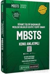 2022 MBSTS Diyanet İşleri Başkanlığı Mesleki Bilgiler Seviye Tespit Sınavı MBSTS Konu Anlatımlı