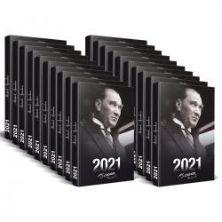 50 Adet - 2021 Atatürk Ajandası (Portre)