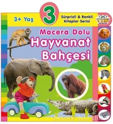 3+ Yaş Macera Dolu Hayvanat Bahçesi