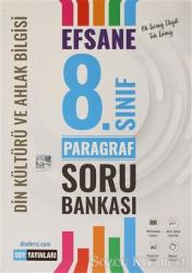 8. Sınıf Efsane Din Kültürü ve Ahlak Bilgisi Paragraf Soru Bankası