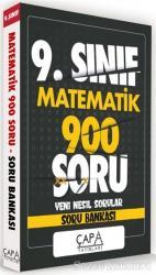 9.Sınıf Matematik 900 Soru Yeni Nesil Sorular - Soru Bankası