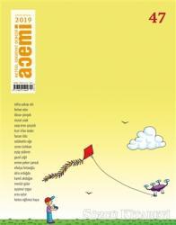 Acemi Aktüel Edebiyat Dergisi Sayı: 47 Kasım - Aralık 2019