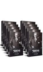 10 Adet - 2021 Atatürk Ajandası (Önder)