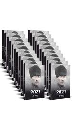 50 Adet - 2021 Atatürk Ajandası (Komutan)
