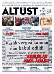 Altüst Dergisi Sayı: 28 Kasım - Ocak 2018