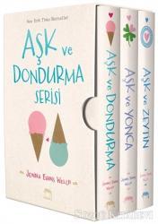 Aşk ve Dondurma Serisi Kutulu Set (3 Kitap Takım)
