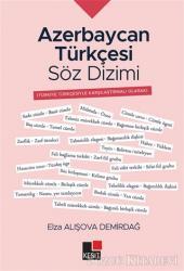 Azerbaycan Türkçesi Söz Dizimi