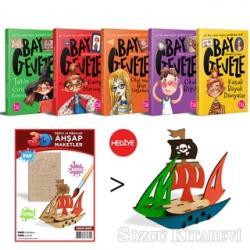 Bay Geveze 5 Kitap Takım (Korsan Gemisi 3D Ahşap Maket Hediyeli)