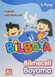 Bilboya Bilmeceli Boyama - Yaban Hayvanları