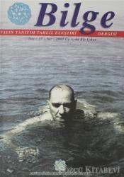 Bilge Sayı: 37 / Yaz 2003