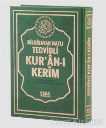 Bilgisayar Hatlı Tecvidli Kur'an-ı Kerim (Cami Boy - Kod 177)