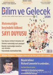Bilim ve Gelecek Dergisi Sayı: 208 Ağustos 2021