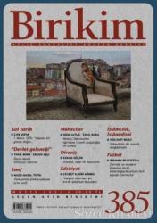 Birikim Aylık Edebiyat Kültür Dergisi Sayı: 385 Mayıs 2021