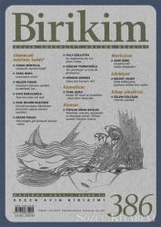 Birikim Aylık Edebiyat Kültür Dergisi Sayı: 386 Haziran 2021