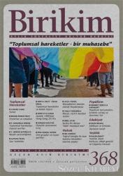Birikim Aylık Sosyalist Kültür Dergisi Sayı: 368 Aralık 2019