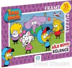 CA Games Kral Şakir - Frame Puzzle 2 - Pembe (35 Parça)