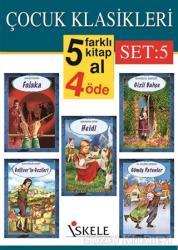 Çocuk Klasikleri Set:5 (5 Kitap Takım)