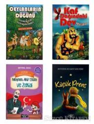 Çocuklar İçin Hikaye Seti (4 Kitap Takım)