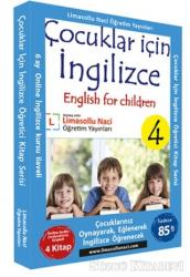 Çocuklar için İngilizce Kitap Serisi (4 Kitap Takım)