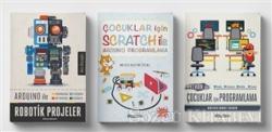 Çocuklar için Scratch ve Kodlama Eğitim Seti (3 Kitap Takım)
