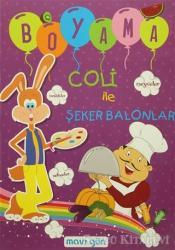Coli ile Şeker Balonlar Boyama