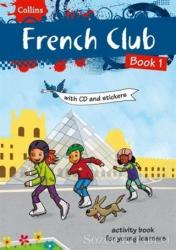 Collins French Club 1 + Stickers + CD