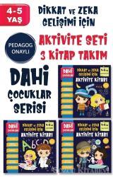 Dahi Çocuklar Serisi Aktivite Seti 4-5 Yaş – (3 Kitap Takım)