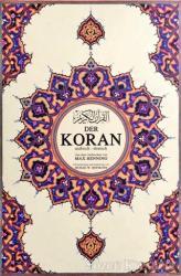 Der Koran Kur'an-ı Kerim ve Almanca Meali  (Süper Mega Boy, Şamua)