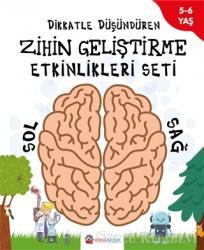 Dikkatle Düşündüren Zihin Geliştirme Etkinlikleri Seti (4 Kitap Takım)