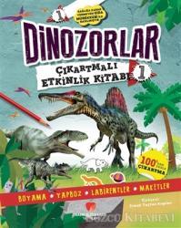 Dinozorlar Çıkartmalı Etkinlik Kitabı 1