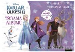 Disney Karlar Ülkesi 2 - Boyama Albümü Bilinmeyene Doğru